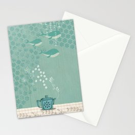 Fox dreams Stationery Cards