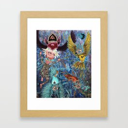 Spirit Migration Framed Art Print