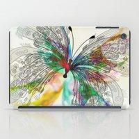butterfly iPad Cases featuring Butterfly by Klara Acel