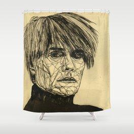 My Favorite Rogue (Warhol) Shower Curtain