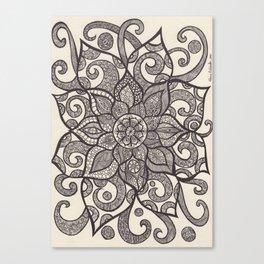 zendala of dreams Canvas Print
