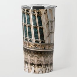 Gothic Westminster Abbey London Photo by Larry Simpson Travel Mug