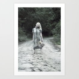 """VAMPLIFIED """"Welcome to Bowden Road"""" Art Print"""