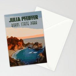 Julia Pfeiffer state park, California Stationery Cards