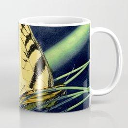 Yellow Tiger Swallowtail Butterfly A125 Coffee Mug
