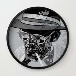 Dr Gonzo Wall Clock