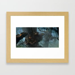 Below the Root Framed Art Print