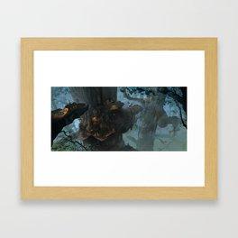 Below the Root Framed Art Print