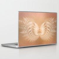 angel wings Laptop & iPad Skins featuring Angel Wings by Selina Morgan