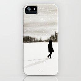 Winter Wandering iPhone Case