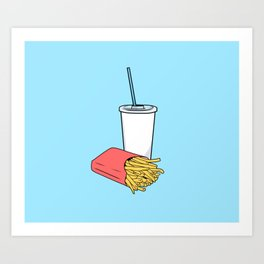 Fries With That Art Print