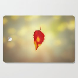 Autumn Leaf Cutting Board