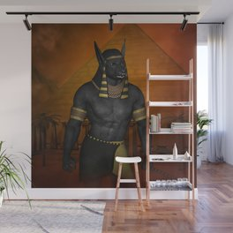 Anubis the Egyptian god Wall Mural