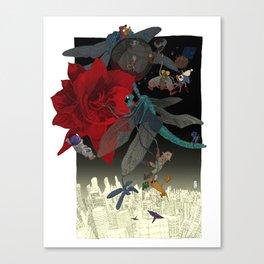 Amaryllis Canvas Print