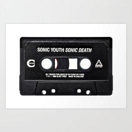 Sonic Youth Sonic Death Art Print