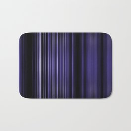 Purple selective focus blurred stripes pattern Bath Mat