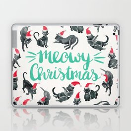 Meowy Christmas – Mint Type Laptop & iPad Skin