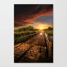 The Old Ford Canvas Print