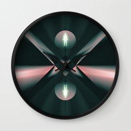 Ascend - Descend Wall Clock