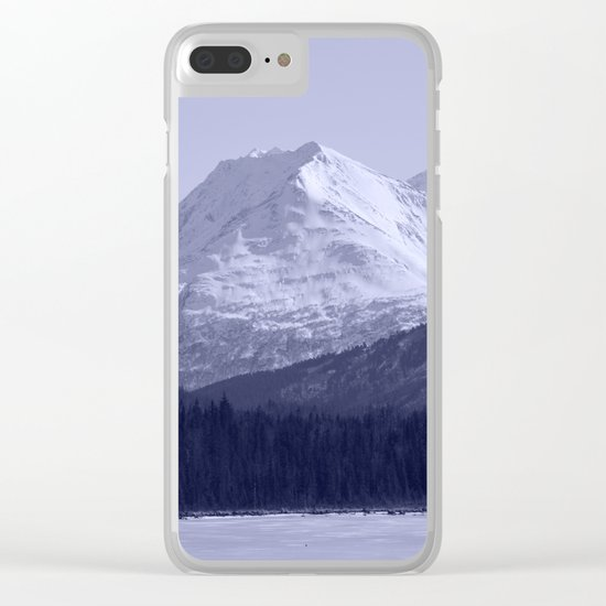 Tern Lake - Mono 1 Clear iPhone Case