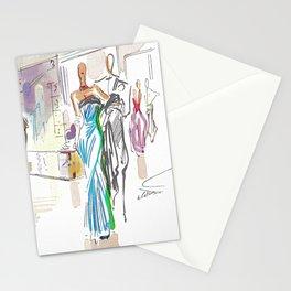 Italian Line Stationery Cards
