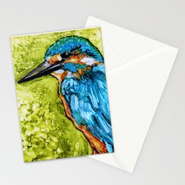 King Fisher By Pam Hayes - Stationery Cards