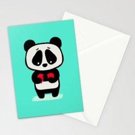 Sad Panda Stationery Cards