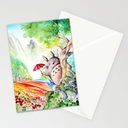"""""""Behind the tree"""" Stationery Cards"""
