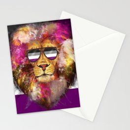 Ace Lion Pride Stationery Cards