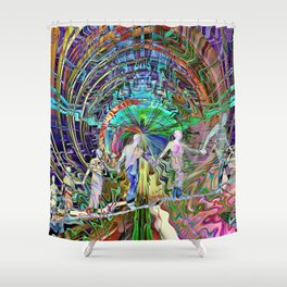 The Ties That Bind Us Shower Curtain