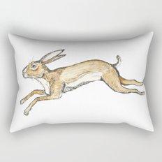 Spring rabbit Rectangular Pillow