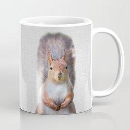 Squirrel - Colorful Coffee Mug