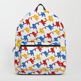Monkey Toy Pattern Backpack