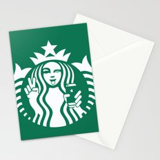 Selfie - 'Starbucks ICONS' Stationery Cards