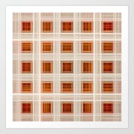 Ambient 11 Squares Art Print