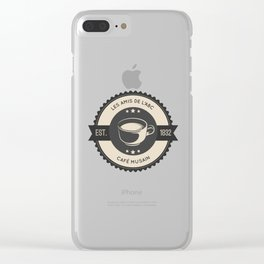 Café Musain Clear iPhone Case