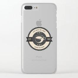Café Musain Clear iPhone Case