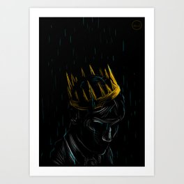 For King and Crown Art Print