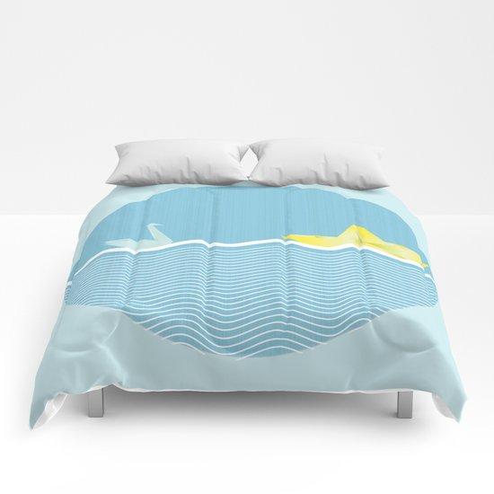 Origami summer Comforters