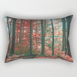 into the woods 11 Rectangular Pillow