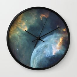 Galaxy Nebula Wall Clock