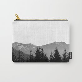 Mountain Silhouette Carry-All Pouch
