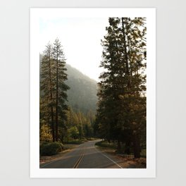 The Road to Kings Canyon Art Print