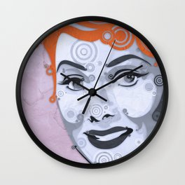 Loving Lucy Wall Clock