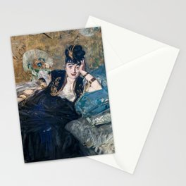 Edouard Manet - Lady with Fans Stationery Cards