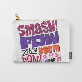 Smash! Pow! Zing! Boom! Carry-All Pouch