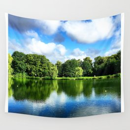 Clear & Blurry  Wall Tapestry