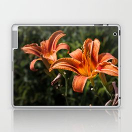 Orange Yellow Fire Lily Laptop & iPad Skin