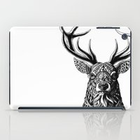 ornate elephant iPad Cases featuring Ornate Buck by BIOWORKZ