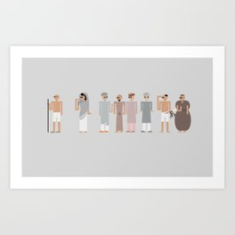 The Salt March Art Print